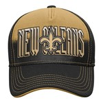 NFL Young Men's New Orleans Saints DNA Helix Flex Cap