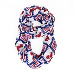 ZooZatz Women's University of Mississippi Southwest Infinity Scarf