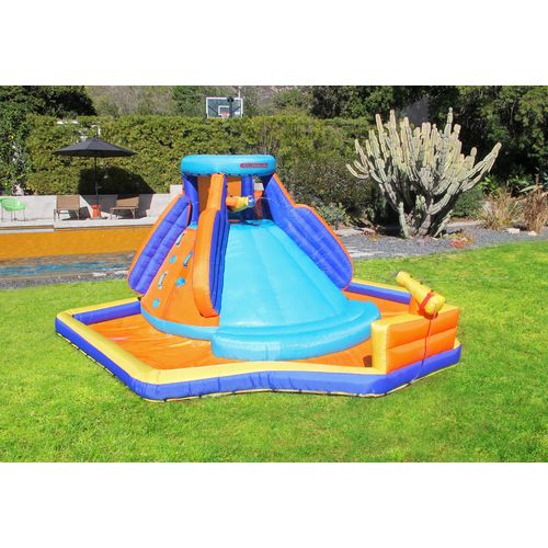 Display product reviews for Sportspower Battle Ridge Water Slide