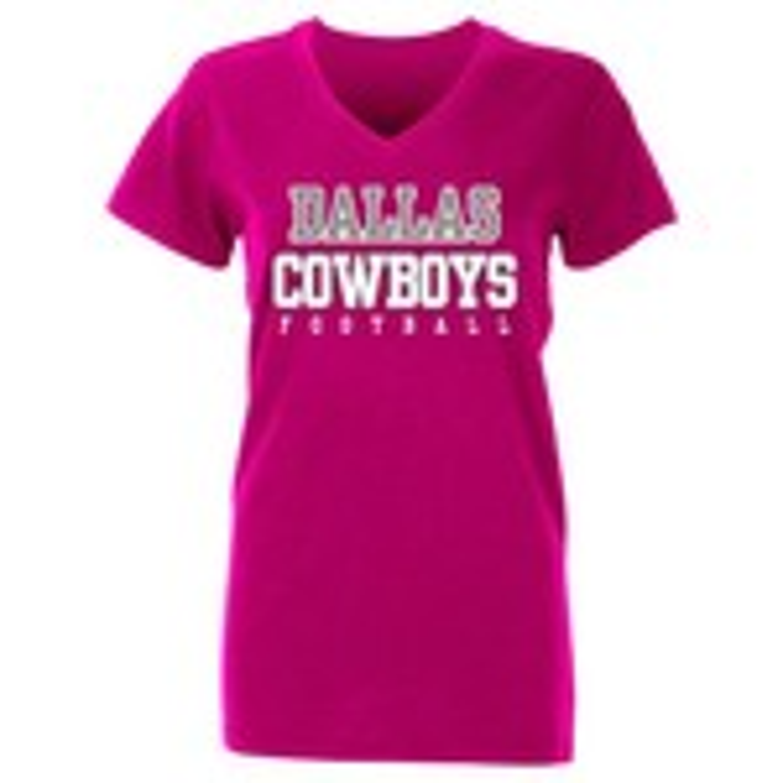 Dallas Cowboys Women's Practice Glitter T-shirt
