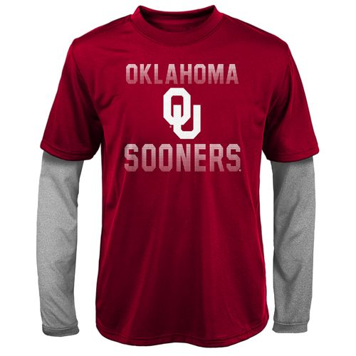 Gen2 Boys' University of Oklahoma Bleachers Double Layer Long Sleeve T-shirt