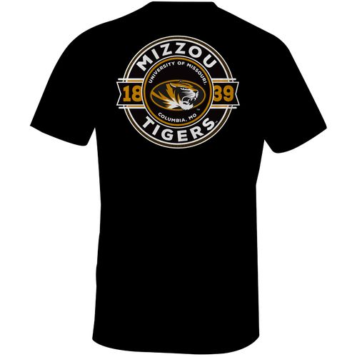 Image One Men's University of Missouri Rounds Comfort Color Short Sleeve T-shirt