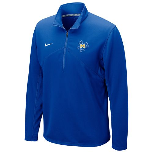Nike™ Men's McNeese State University Dri-FIT 1/4 Zip Training Pullover