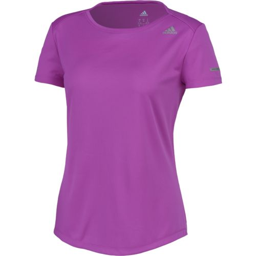 Display product reviews for adidas Women's Sequencials Money Running T-shirt