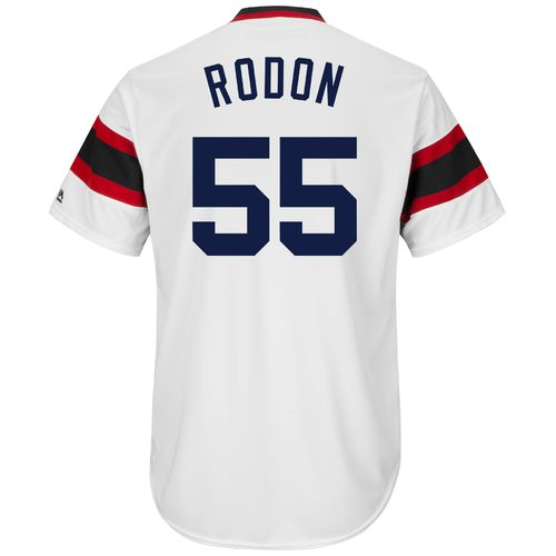 Majestic Men's Chicago White Sox Carlos Rodon #55 Cool Base Cooperstown Jersey - view number 1