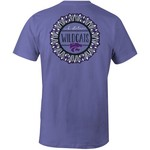 Image One Women's Kansas State University Color Me Comfort Color T-shirt
