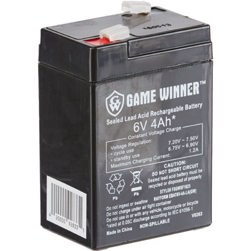 Display product reviews for Game Winner®  6V 4 Ah Feeder Battery