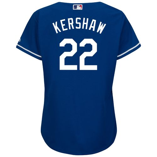 Majestic Women's Los Angeles Dodgers Clayton Kershaw #22 Authentic Cool Base Jersey