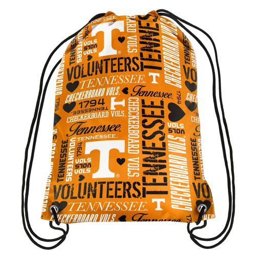 Forever Collectibles™ Women's University of Tennessee Collage Drawstring Backpack