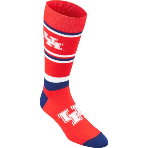 For Bare Feet Men's University of Houston Dress Socks