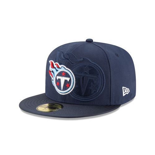 New Era Men's Tennessee Titans On Field 59Fifty Cap