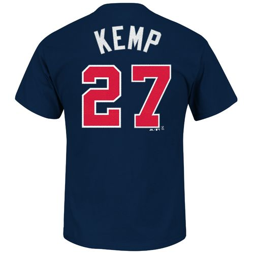 Majestic Men's Atlanta Braves Matt Kemp #27 T-shirt