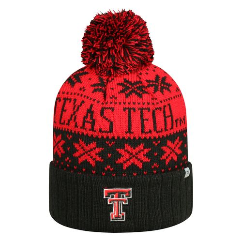 Top of the World Men's Texas Tech University Subarctic Knit Cap
