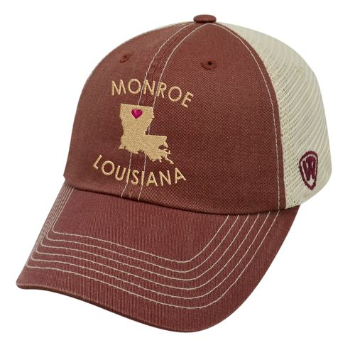 Top of the World Women's University of Louisiana at Monroe Roots Cap