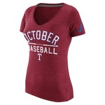 Nike Women's Texas Rangers October Baseball T-shirt
