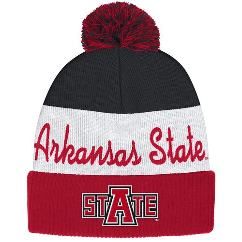 adidas™ Men's Arkansas State University Cuffed Knit Pom