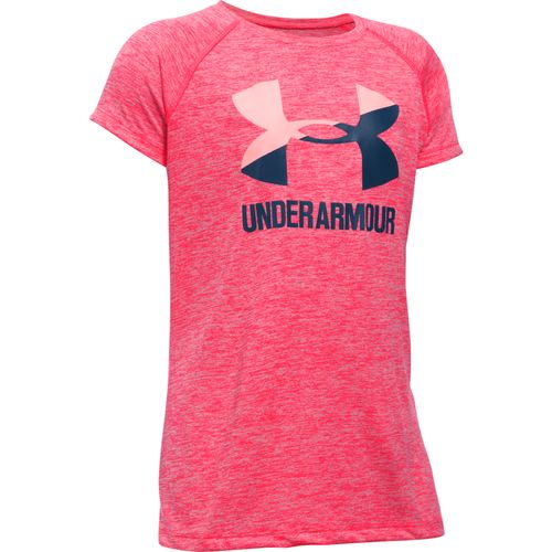 Under Armour Girls' Big Logo Short Sleeve T-shirt - view number 1