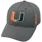 Top of the World Men's University of Miami Booster Cap - view number 1