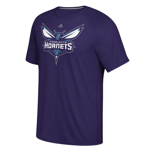 adidas Men's Charlotte Hornets climalite Ultimate Short Sleeve T-shirt