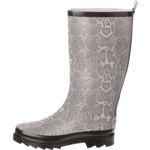 Austin Trading Co. Women's Snakeskin Rubber Boots - view number 1