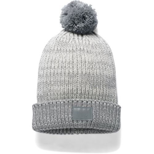Under Armour Girls' Lurex Knit Pom Beanie