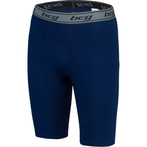 BCG Men's Solid 9 in Compression Short