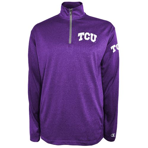 Champion™ Men's Texas Christian University Victory 1/4 Zip Pullover