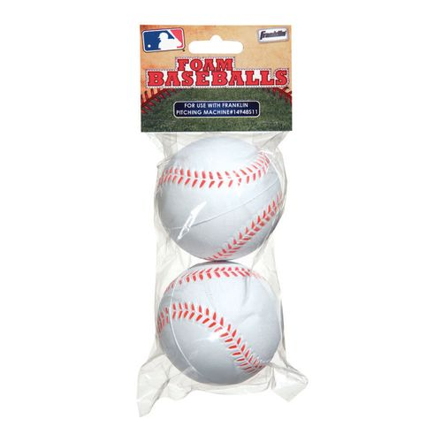 Franklin Replacement Pitching Machine Balls 2-Pack