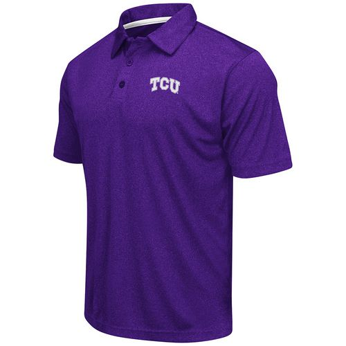 Colosseum Athletics™ Men's Texas Christian University Academy Axis Polo Shirt - view number 1