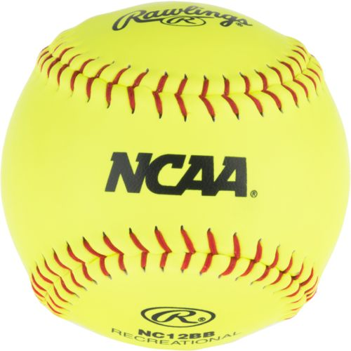 Rawlings Women's NCAA Recreational 12 in Fast-Pitch Softballs 24-Pack - view number 2