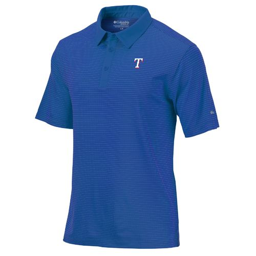 Columbia Sportswear Men's Texas Rangers Omni-Wick Sunday Polo Shirt