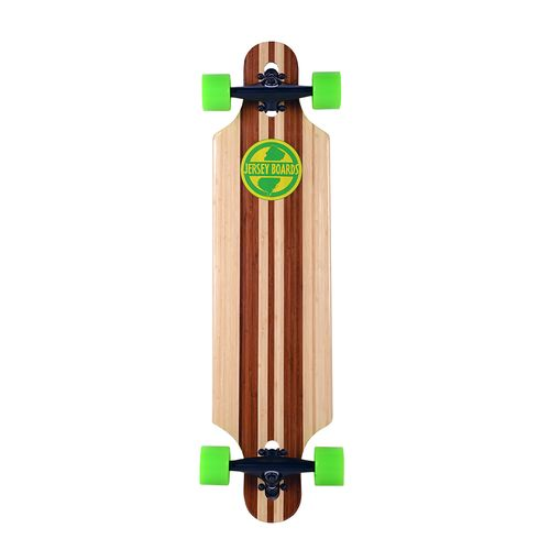 Jersey Boards 36 in Bamboo Drop-Through Skateboard