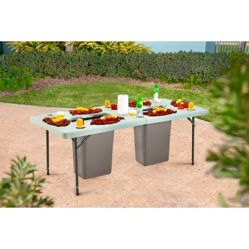 Academy Sports + Outdoors 7 ft Folding Cookout Table - view number 9