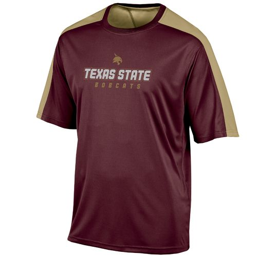 Champion™ Men's Texas State University Colorblock T-shirt