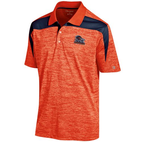 Champion™ Men's University of Texas at San Antonio Synthetic Colorblock Polo Shirt