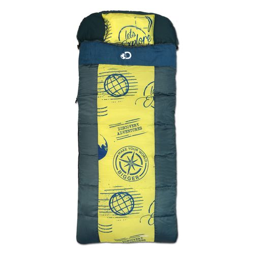 Display product reviews for Discovery Adventures Kids' Coolvent 45 Degrees Sleeping Bag