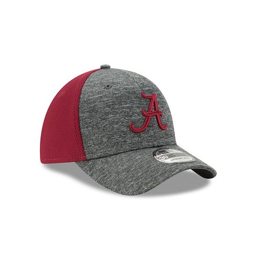 New Era Men's University of Alabama Shadow Blocker 39THIRTY Cap - view number 3