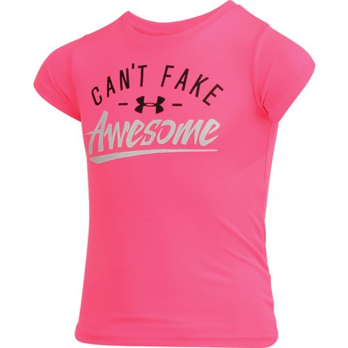 Under Armour Girls' Can't Fake Awesome T-shirt - view number 3