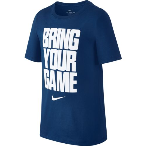Nike Boys' Dry Bring Your Game Short Sleeve Basketball T-shirt