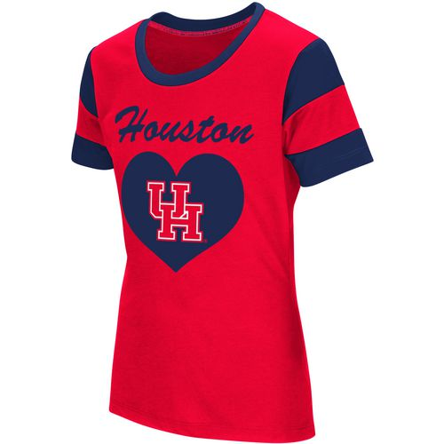 Colosseum Athletics Girls' University of Houston Bronze Medal Short Sleeve T-shirt