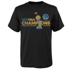 adidas Youth Golden State Warriors 2017 NBA Finals Champions Locker Room T-shirt - view number 1