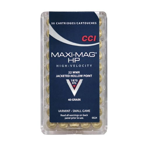 Display product reviews for CCI® Maxi-Mag® .22 WMR 40-Grain Ammunition