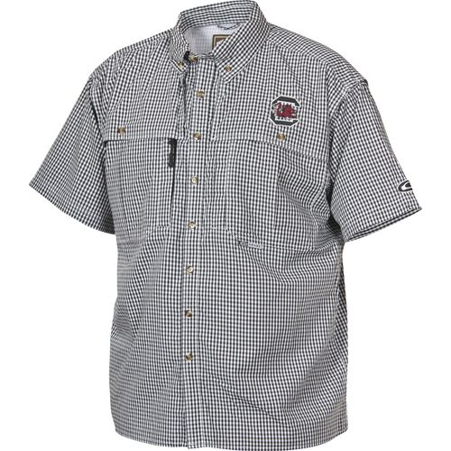 Drake Waterfowl Men's University of South Carolina Gameday Wingshooter's Button-Down Shirt