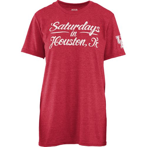 Three Squared Juniors' University of Houston Saturday T-shirt