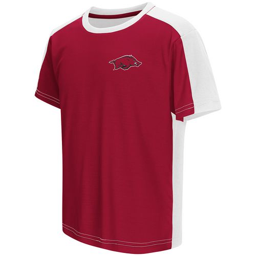 Colosseum Athletics Boys' University of Arkansas Short Sleeve T-shirt