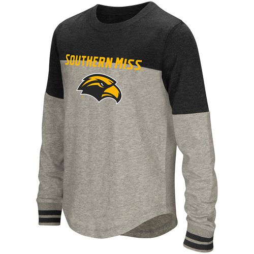 Colosseum Athletics Girls' University of Southern Mississippi Baton Long Sleeve T-shirt