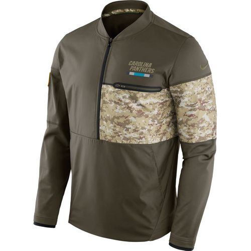 Nike Men's Carolina Panthers Salute To Service Hybrid Jacket