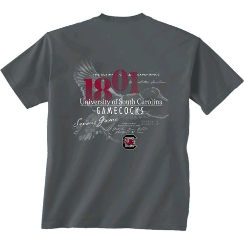 New World Graphics Men's University of South Carolina In Flight T-shirt