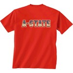 New World Graphics Women's Arkansas State University Logo Aztec T-shirt - view number 1