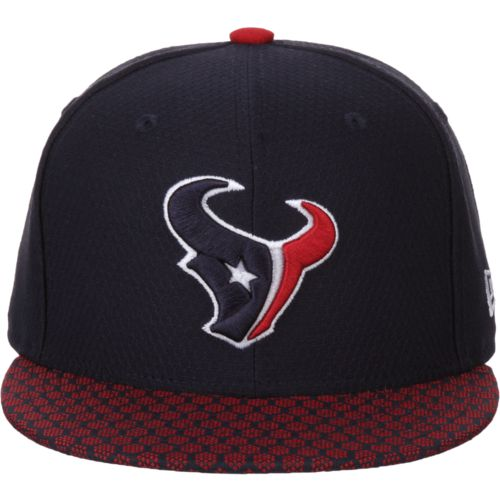 New Era Men's Houston Texans Onfield Sideline '17 59FIFTY Cap